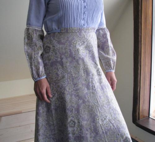 Платье -Незабудка-