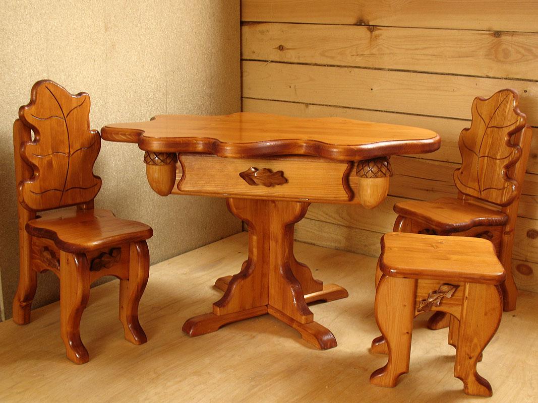 Мебели из массива своими руками фото