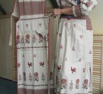 Платье-костюм -Петушки-