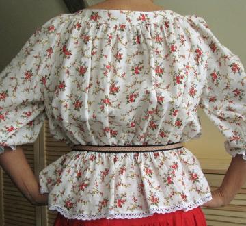 Блузка -Весеннее настроение-