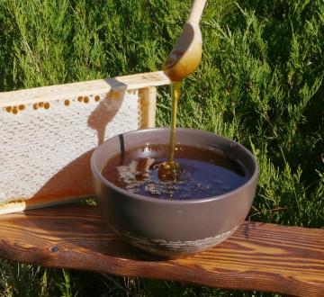 Мед сотовый -Луговое разнотравье-