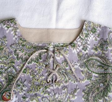 Рубаха -Огурцы-