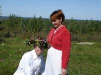 Маша венчает Виталия