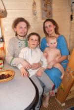 Виталий, Маша и Радомир