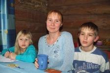 Татьяна, Федя и Даша