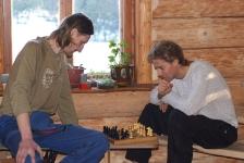 Схватка шахматистов