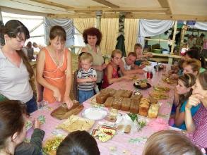 Занятие по  выпечке хлеба