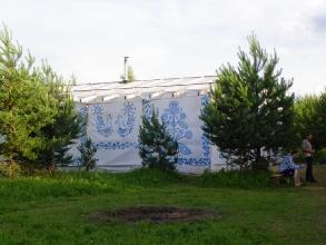 'Банерный дом' для семинаров