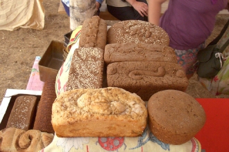 Хлеб, испеченый на семинаре