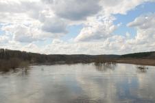 Вид на разлив с моста