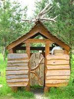 Домик для садовых инструментов