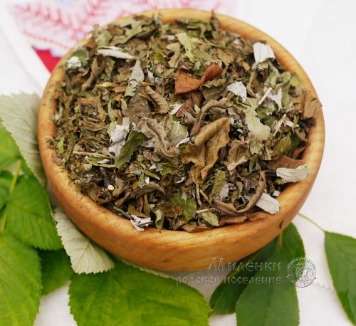 Чай Свежесть, с вишней и малиной