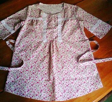 Блузка-туника -Розочка-