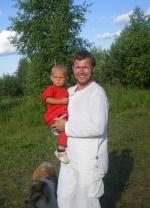 Вова с соседом Радомиром