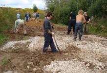 Копаем дренажные канавы