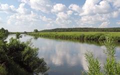 Пейзаж на реке Угра